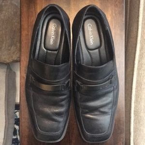 Men's Calvin Klein Black Dress Shoes Size 10.5